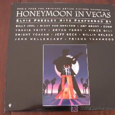 Discos de vinilo: HONEYMOON IN VEGAS (HOLANDA-EPIC-1992) BANDA SONORA LP TRIBUTO ELVIS PRESLEY . Lote 19233433