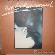 Discos de vinilo: CULTURE BEAT FEATURING JO VAN NELSEN--- DER ERDBEERMUND MAXI. Lote 16505693