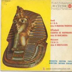 Discos de vinilo: ORQUESTA BOSTON POPS. Lote 6542735