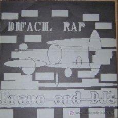 MAXI SINGLE. DIFACIL RAP. BRAVO AND THE DJ'S. IMPACT RECORDS. 1989. LOGO BUSINESS. VALENCIA.