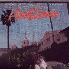 Discos de vinilo: ALMOST SUMMER LP BANDA SONORA ORIGINAL MCA 1978 USA BRIAN WILSON MIKE LOVE RON ALTBACH. Lote 20409474