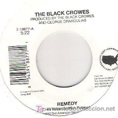 Discos de vinilo: THE BLACK CROWES - REMEDY / DARLING OF UNDERGROUND PRESS ***1992. Lote 16007994