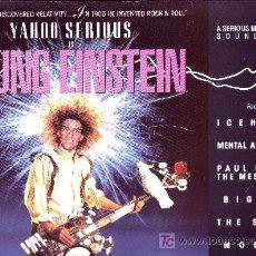 Discos de vinilo: EL JOVENCITO EINSTEIN LP BANDA SONORA ORIGINAL VARIOS ARTISTAS YAHOO SERIOUS 1988 UK A&M. Lote 23656970