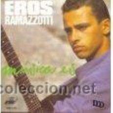 Discos de vinilo: LP EROS RAMAZZOTTI: MÚSICA ES. EN ESPAÑOL . Lote 26678223