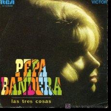 Discos de vinilo: ENCARNITA POLO - PEPA BANDERA - 1969. 2 DISCOS UNO CON NOMBRE CANTANTE Y OTRO SIN ÉL (VER FOTOS). Lote 27296705