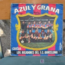 Discos de vinilo: (71) VINILO SINGLE-CANTAN LOS JUGADORES DEL BARÇA-. Lote 9418241