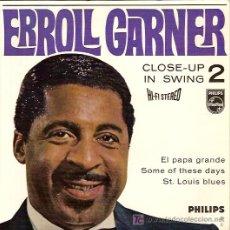 Discos de vinilo: ERROLL GARNER EP SELLO PHILIPS EDICION HOLANDESA. Lote 6605055