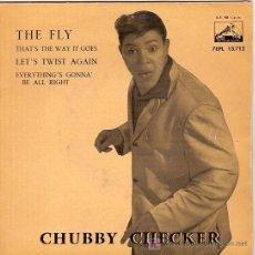 Discos de vinilo: CHUBBY CHECKER EP SELLO LA VOZ DE SU AMO AÑO 1962. Lote 6605063