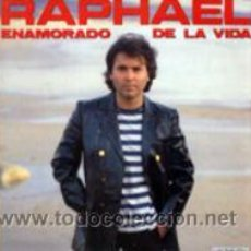 Discos de vinilo: LP RAPHAEL: ENAMORADO DE LA VIDA: FALSO - ES DIFÍCIL MORIR DE AMOR - PROVOCACIÓN - SEGÚN SE ES,. Lote 26232348