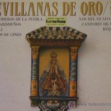 Discos de vinilo: DOBLE LP DE SEVILLANAS DE ORO (VOLUMEN 16) . Lote 27414337