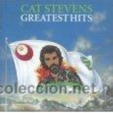 Discos de vinilo: LP CAT STEVENS: GREATETS HITS: WILD WORD. SITTING. HARD HEADED WOMAN. MOONSHADOW. FATHER & SON. Lote 26166076