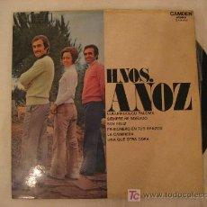 Discos de vinilo: DISCO VINILO HNOS. ANOZ (AÑO 1972). Lote 26391504
