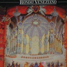 Discos de vinilo: LP RONDÓ VENEZIANO: POESIA DI VENEZIA . Lote 26928794