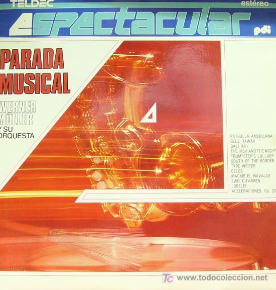 WERNER MULLER Y SU ORQUESTA - PARADA MUSICAL PDI 1987 (Música - Discos - LP Vinilo - Orquestas)