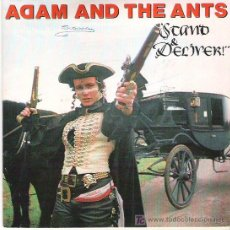 Discos de vinilo: ADAM AND THE ANTS -STAND AND DELIVER / BEAT MY GUEST . Lote 6667433