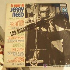 Discos de vinilo: LP. LO MEJOR DE JERRY REED. EDICIÓN ESPAÑOLA DE 1975. EXCELENTE CONSERVACION!!!!!!!!. Lote 6668267