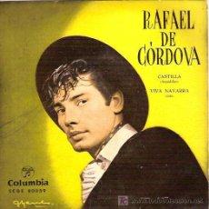 Discos de vinilo: RAFAEL DE CORDOBA (BAILE) SINGLE SELLO COLUMBIA AÑO 1963. Lote 6673269