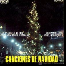 Discos de vinilo: CORO INFANTIL EL TREPA - LOS PECES EN EL RIO / CAMPANA SOBRE CAMPANA / CAMPANILLEROS - EP 1968. Lote 27395464