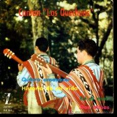 Discos de vinilo: LOS QUECHUAS - QUIERO AMANECER / HISTORIA DE MI VIDA / EN EL MAR / DOS ALMAS - EP 1962. Lote 6678299