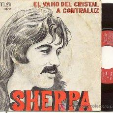 Discos de vinilo: EP 45 RPM / SHERPA ( BARON ROJO ) EL VAHO DEL CRISTAL /// EDITADO POR HLA . Lote 24107859