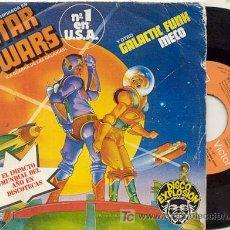Discos de vinilo: SINGLE 45 RPM / STAR WARS ( SERIE TV ) LA GUERRA DE LAS GALAXIAS // EDITADO POR RCA. Lote 14046398