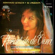 Discos de vinilo: ARMANDO SCIASCIA Y SU ORQUESTA - CUENTOS DE LOS BOSQUES DE VIENA / VALS DE LOS PATINADORES - EP1960. Lote 18241214