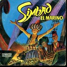Discos de vinilo: V. PORTA ROSES / J. CASAS AUGE - SIMBAD EL MARINO. CUENTO INFANTIL - 1971. Lote 26163403