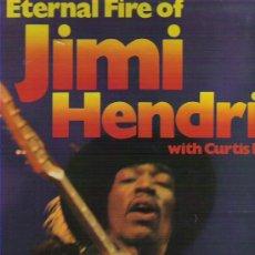 Discos de vinilo: JIMI HENDRIX WITH CURTIS KNIGHT ****THE ETERNAL FIRE ***UK 1971 EN HALLMARK. Lote 13789293