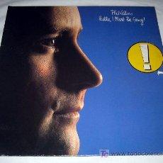 Discos de vinilo: DISCO VINILO PHIL COLLINS - HELLO, I MUST BE GOING! - . Lote 14638165