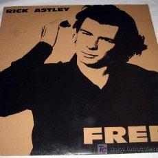 Discos de vinilo: DISCO VINILO RICK ASTLEY - FREE - 1991. Lote 22948151