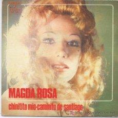 Disques de vinyle: MAGDA ROSA,CHINITITO MIO. Lote 6711440