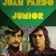 Discos de vinilo: LP JUAN PARDO Y JUNIOR - INCLUYE TAMBIEN UN TEMA DE LOS BRINCOS : LO QUE YO QUIERO. Lote 21310684