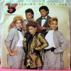 Discos de vinilo: STAR 5 (FIVE STAR - LET ME BE THE ONE) 1985 SINGLE45. Lote 6716762