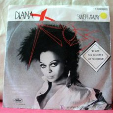 Discos de vinilo: DIANA ROSS (SWEPT AWAY - WE ARE THE CHILDREN OF THE WORLD ) 1984 SINGLE45. Lote 6716848