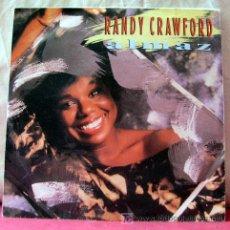 Discos de vinilo: RANDY CRAWFORD (ALMAZ - BETCHA) 1986. Lote 6716855