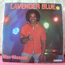 Discos de vinilo: MAC KISSOON – LAVENDER BLUE, FRANCE 1979 CARRERE. Lote 6716911