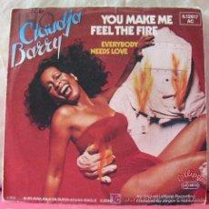 Discos de vinilo: CLAUDIA BARRY (YOU MAKE ME FEEL THE FIRE - EVERYBODY NEEDS LOVE) 1979. Lote 6716987