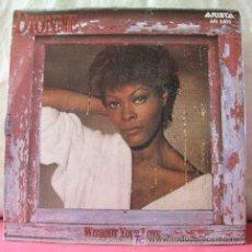Discos de vinilo: DIONNE WARWICK (WITHOUT YOUR LOVE - IT'S LOVE) 1984-HOLANDA SINGLE45 ARISTA. Lote 6716996