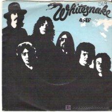 Discos de vinilo: WHITESNAKES - READY AN`WILLING ( SWEET SATISFACTIION ) / NIGHTHAWK ****1980 UA. Lote 18666808