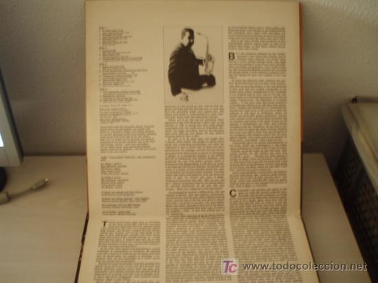 Discos de vinilo: DOBLE LP. CANNONBALL ADDERLEY AND EIGHT GIANTS. Edición española de 1974. Excelente conservación!!!! - Foto 3 - 9796093