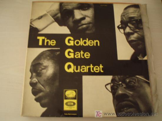 RARO LP. THE GOLDEN GATE QUARTET. CANTOS ESPIRITUALES NEGROS. ED. ESPAÑOLA DE 1965. MUY BUENA CONS. (Música - Discos - LP Vinilo - Jazz, Jazz-Rock, Blues y R&B)