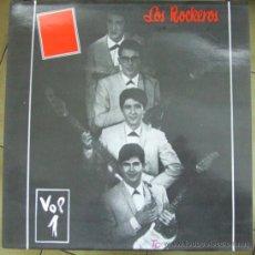 Discos de vinilo: LOS ROCKEROS: VOL. 1 , CONTIENE SUS TRES PRIMEROS EP´S . Lote 13501159