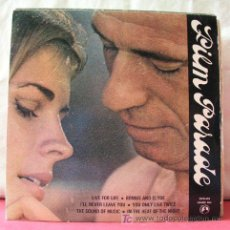 Discos de vinilo: GUY BOYER & ORCHESTRA (BONNIE AND CLYDE - LIFE FOR LIFE - I'LL NEVER LEAVE YOU + 3 MAS) EP45. Lote 6752179