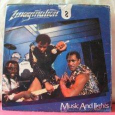 Discos de vinilo: IMAGINATION ( MUSIC AND LIGTHS 2 VERSIONES ) SINGLE45. Lote 6762381