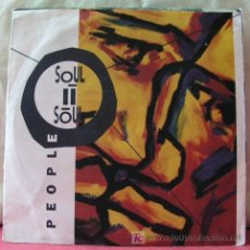 Discos de vinilo: SOUL II SOUL ( PEOPLE - FEELIN' FREE ) ENGLAND-1990 SINGLE45 10 VIRGIN RECORDS. Lote 6762456