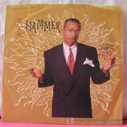 M.C. HAMMER (PRAY - PRAY INSTRUMENTAL) SINGLE45 (Música - Discos - Singles Vinilo - Funk, Soul y Black Music)