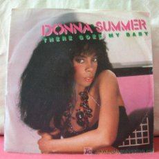 Discos de vinilo: DONNA SUMMER ( THERE GOES MY BABY - MAY BE IT'S OVER ) USA GERMANY-1984 SINGLE45 WARNER BROS . Lote 6773359