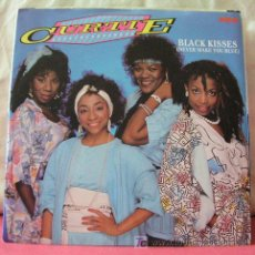 Discos de vinilo: CURTIE & THE BOOMBOX ( BLACK KISSES 2 VERSIONES ) 1985-SWEDEN SINGLE45 RCA. Lote 6773380
