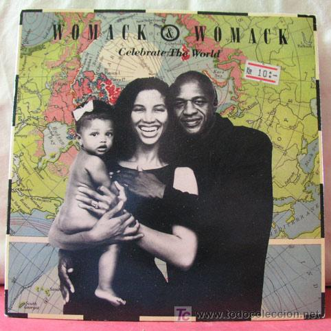 WOMACK & WOMACK (CELEBRATE THE WORLD - FRIENDS (SO CALLED)) (Música - Discos - Singles Vinilo - Funk, Soul y Black Music)