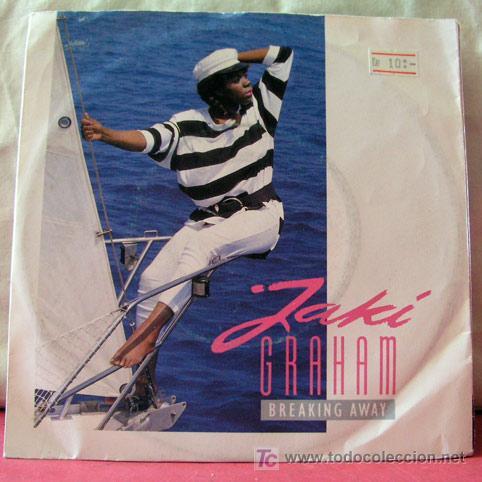 JAKI GRAHAM (BREAKING AWAY - LOVE ME TONIGHT) (Música - Discos - Singles Vinilo - Funk, Soul y Black Music)